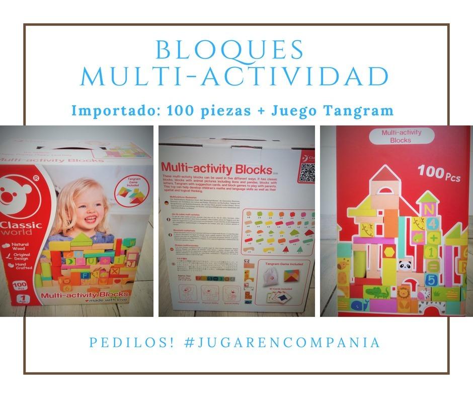 100 Bloques De Madera Multi Actividad 1 6 Anos Montessori 1 390