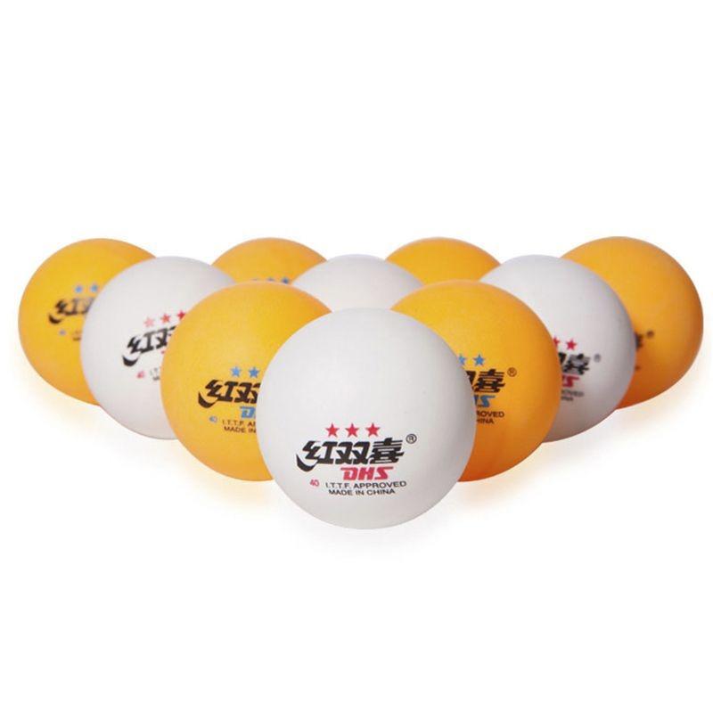 a35a8ec7b 100 bolinhas dhs bola de ping pong profissional queima total. Carregando  zoom.