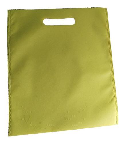 100 bolsa 30*35 boutique ecologica nonwoven sin impresión fu