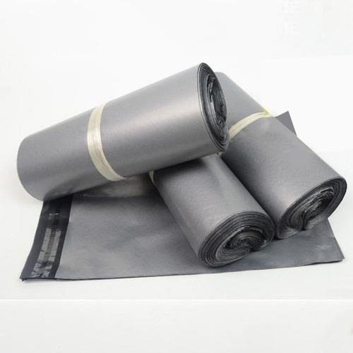 100 bolsa poly sobres envíos mailler adhesivo 28 x 40 gris
