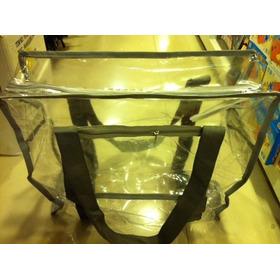 100 Bolsa Sacola Plástica Transparente Cristal 34*23cm,tam.p