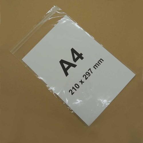 100 bolsas celofan con adhesivo tamaño a4 (22x30cm)