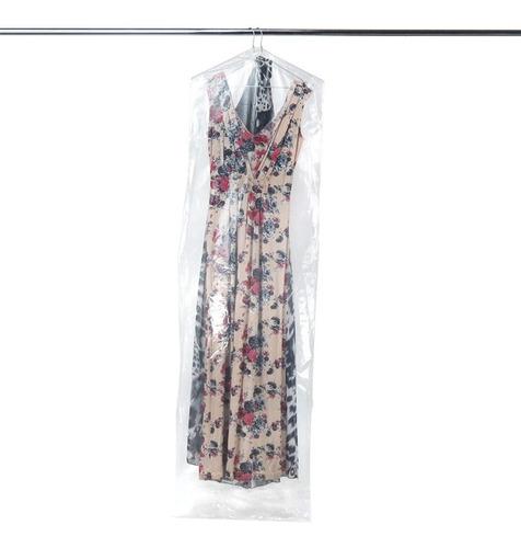 100 bolsas cubre polvo tintorería 60/150 cm vestido largo