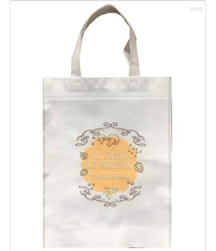 100 bolsas de friselina ecologicas personalizadas 30x40