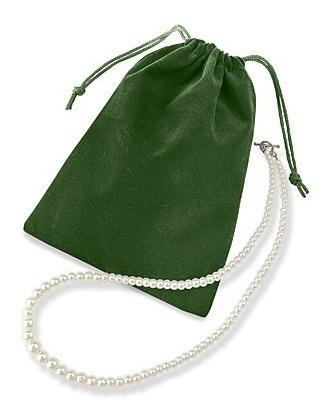 100 bolsas de terciopelo para joyas o joyeria de 12 x 17 cm