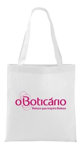 100 bolsas ecobag 23x34cm em tnt personalizada com sua logo