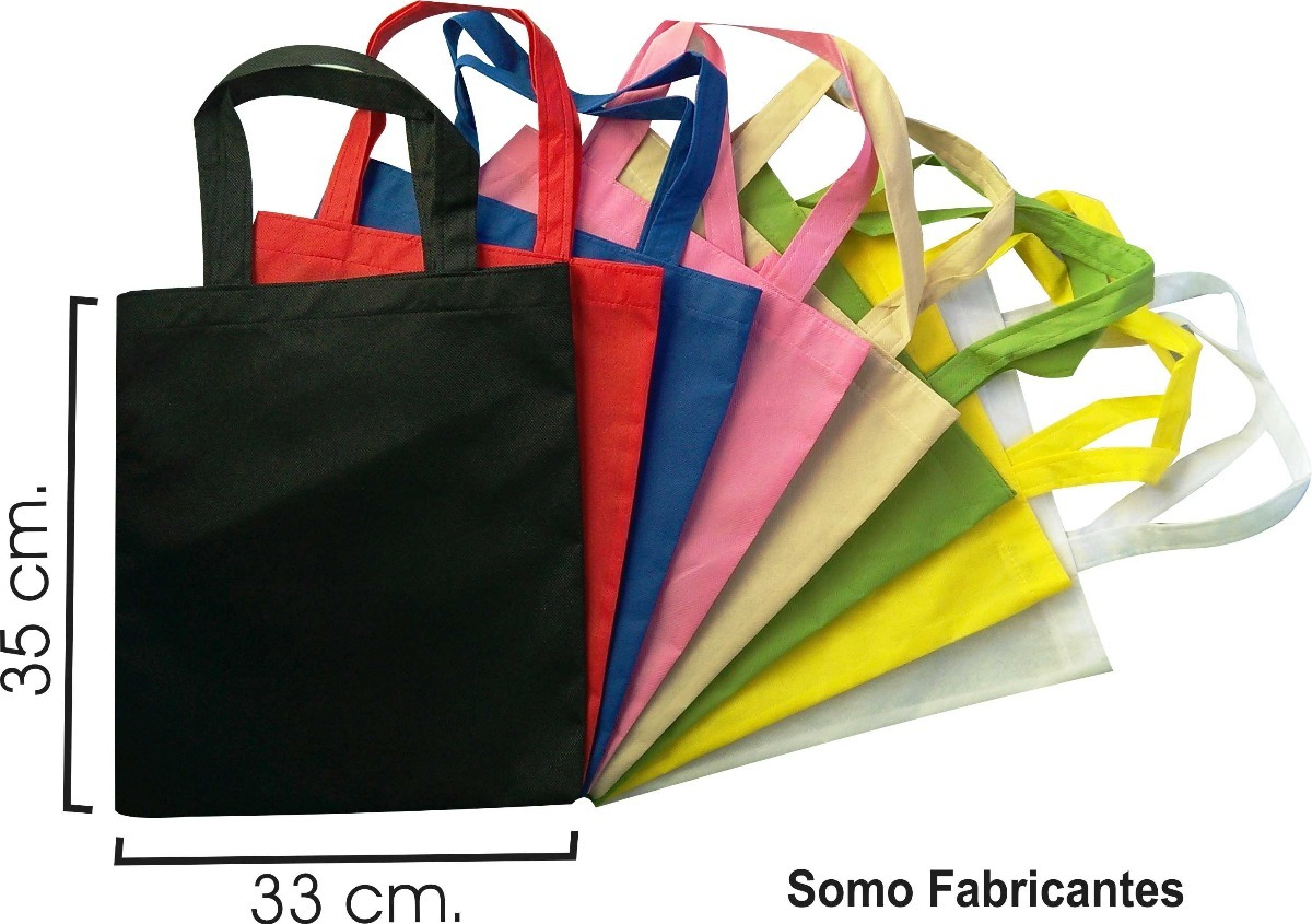 b5b831cab 100 Bolsas Ecologicas De 30x35 Tipo Morra, Sin Impresión - $ 920.00 ...