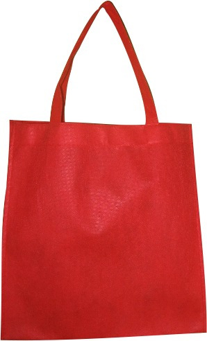 100 bolsas ecologicas de 35x33 tipo morral, sin impresión