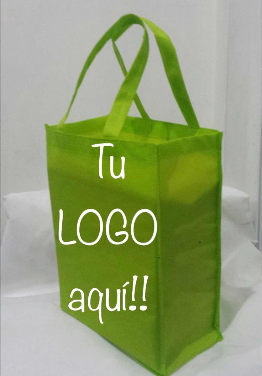 33e39592a 100 Bolsas Ecológicas Personalizadas Con Tu Logo - $ 1,150.00 en ...
