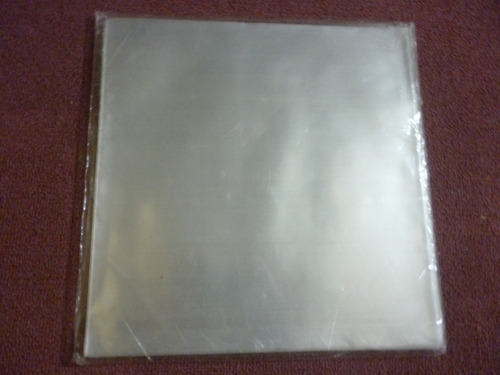 100 bolsas externas(60 micrones) +100 internas  para vinilos