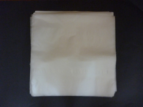 100 bolsas externas(80 micrones) +100 internas  para vinilos