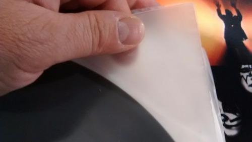 100 bolsas internas para discos vinilo lp 50 micrones gruesa