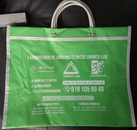 d5ea37697 100 Bolsas Mandadera Vinil Impresa 2 Lados Logotipo Mayoreo