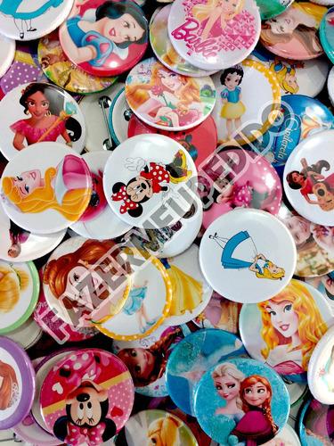 100 boton button broche botton personalizado 4,5cm qualidade