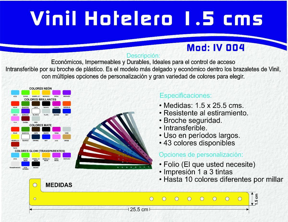 3a7bcb5dbdc0 100 Brazaletes Pulseras Vinil Para Eventos Xv Años