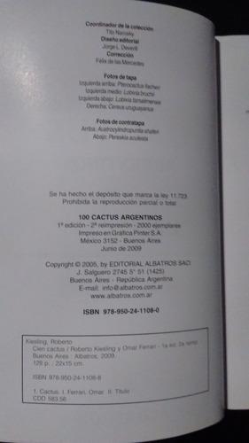 100 cactus argentinos - 9789502411088
