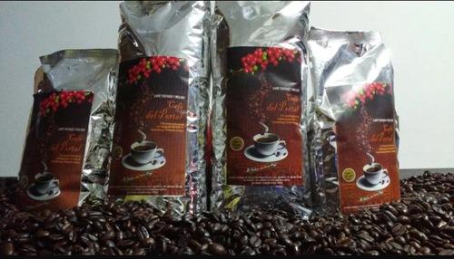 100% café tostado molido del portal