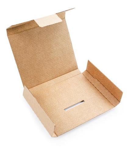 100 caixas papelão cr 15x12x1,5 - p carta registrada correio