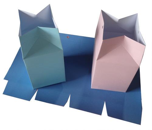 100 caixinhas sacolinha colorida papel lembrancinha surpresa
