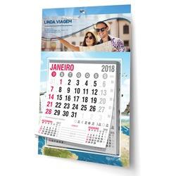 100 calendário personalizado 2019 folhinhas comerciais 18x27