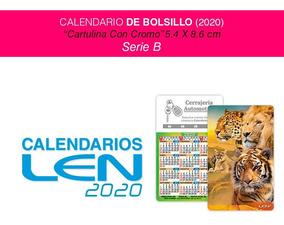 Calendario Serie B 2020 17.100 Calendarios Bolsillo Cartulina Con Cromo 50 Modelos 2020