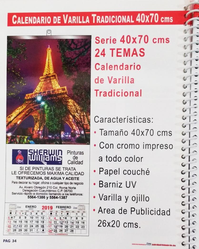 Calendario Santoral 2019.100 Calendarios De Varilla Con Santoral 2019