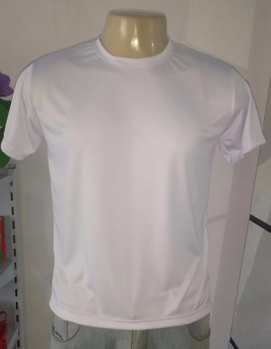 100 camisetas branca dry fit lisa sublimação frete grátis. Carregando zoom. e4d180c2b27