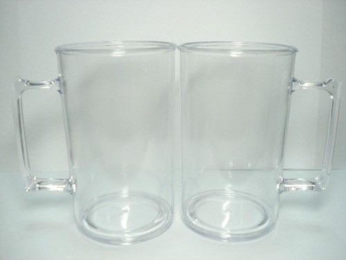 100 canecas acrilicas para chopp 300 ml para personalizar