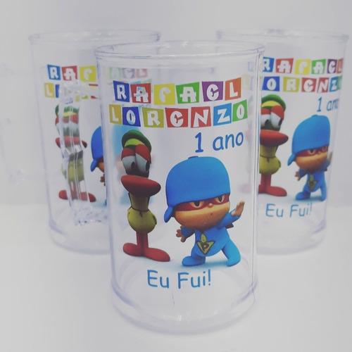 100 canecas acrílicas personalizadas 300ml dia das crianças