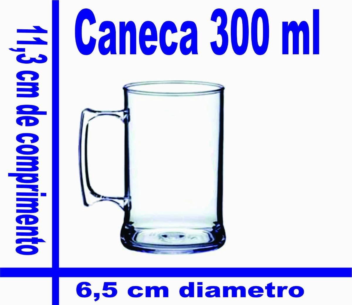 ceb0c488b 100 Canecas De Chopp Acrilico Personalizadas 300 Ml Promoção - R ...