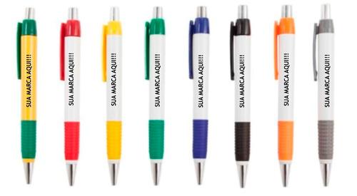 100 caneta personalizada só r$ 0,96 unidade aproveite