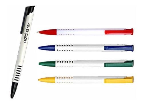 100 canetas personalizadas com sua logo, caneta promocional