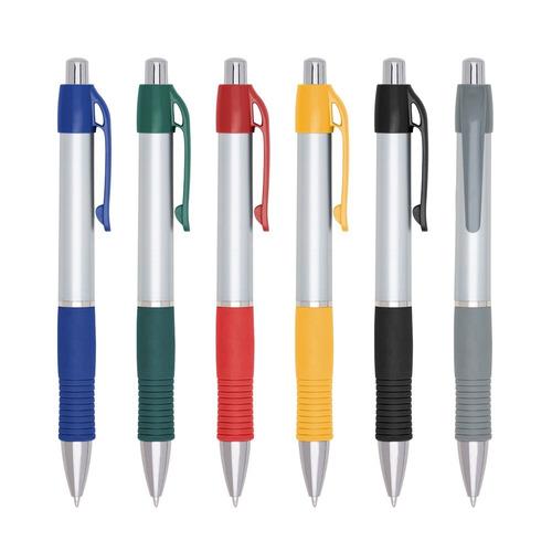 100 canetas plástica personalizada laser brinde linda barato
