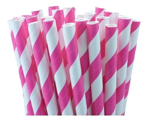 100 canudos de papel vintage canudinhos biodegradaveis festa