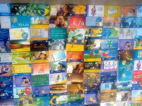 100 cartões telefônicos diferentes - brasil por 22,00 - ix