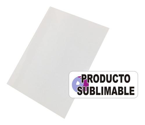 100 cartones blancos sublimables a4 sublimación