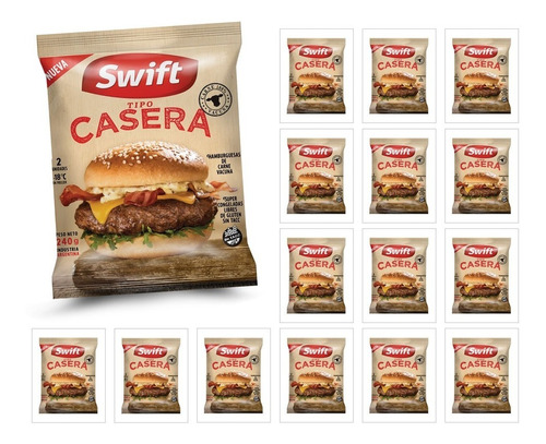 100% casero - combo caseras swift - pack stockeo