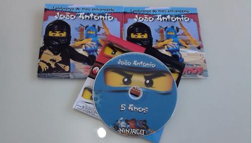 100 cds + envelopes personalizados + lacre + duplicação