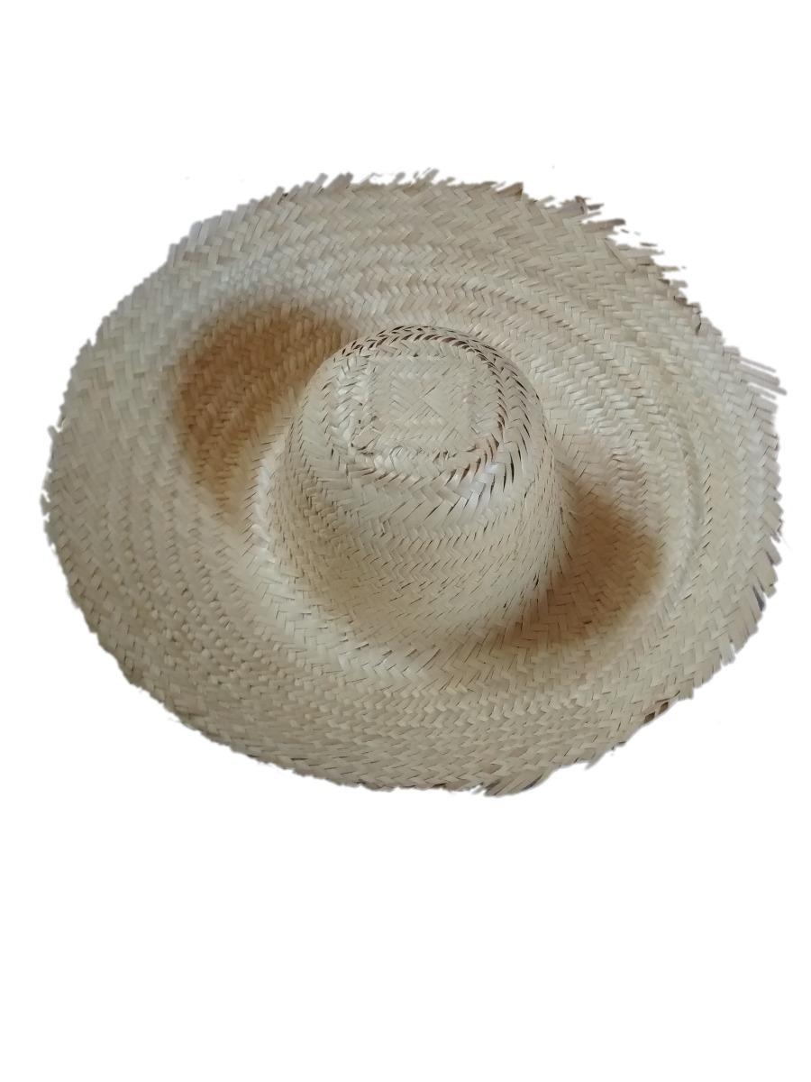 100 Chapéu De Palha Caipira Atacado Aba 15cm Ref 0006 - R  585 9732eb685a4