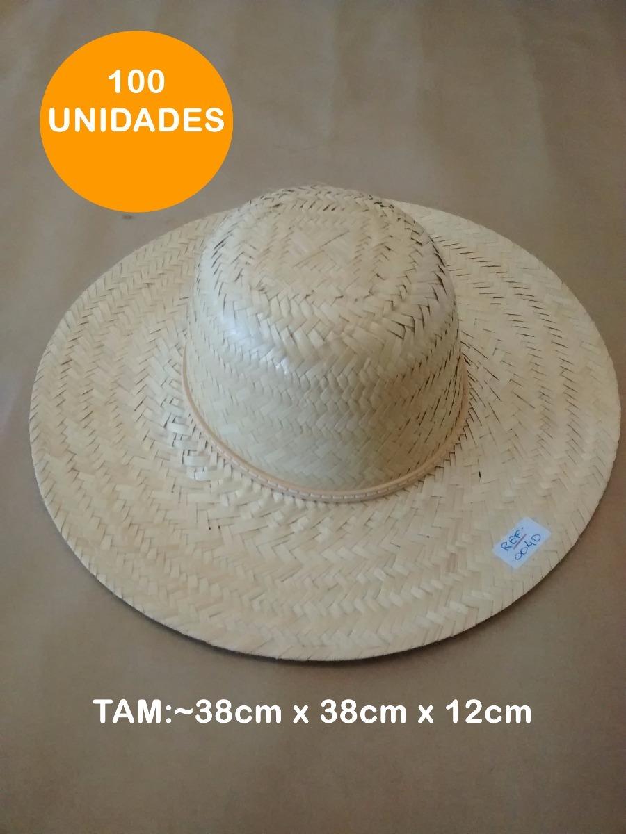 bfe8db14ac18d 100 Chapeu De Palha Praia Caranda Atacado Aba 10cm 0040 - R  895