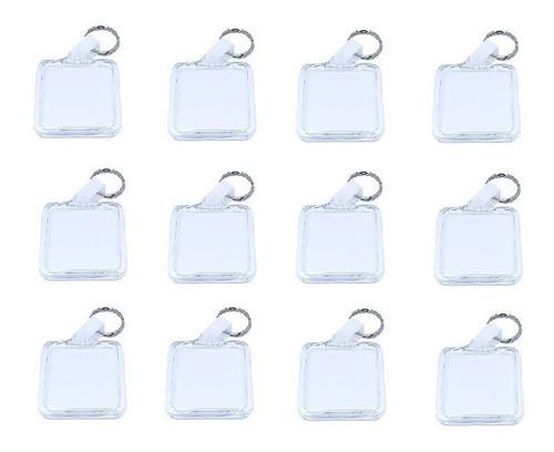 100 chaveiros para foto de acrílico porta foto lembrança