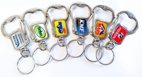 100 chaveiros personalizados abridor de garrafa para brindes