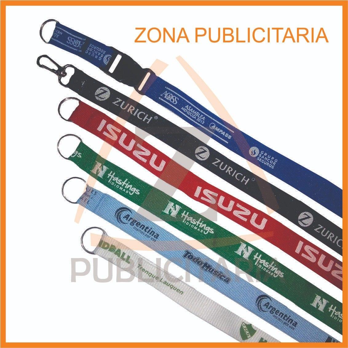 5e29567018 100 Cintas Colgantes Llavero Lanyards Personalizadas - $ 970,00 en ...