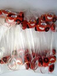 100 colherzinhas tema carros disney em  biscuit