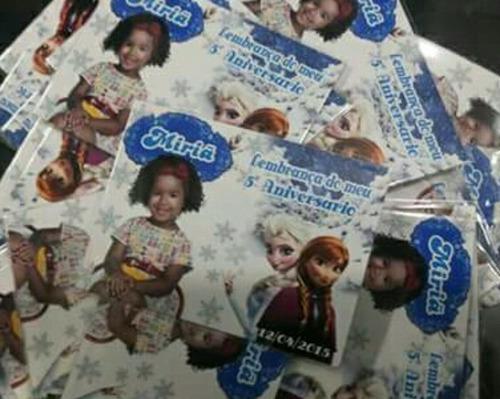 100 convites personalizados 9 x7 cm