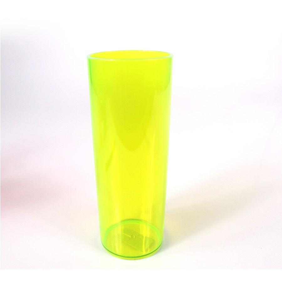 a87407f1a 100 copos long drink acrílico amarelo neon. Carregando zoom.