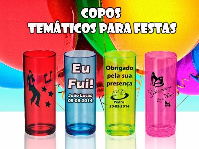 100 Copos Long Drink Personalizados Acrílico Neon Comum R 32980