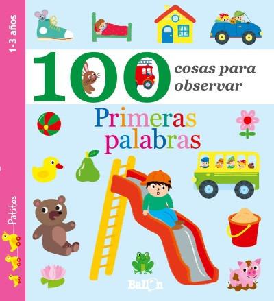 100 cosas para observar - primeras palabras(libro infantil y