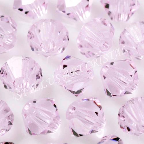 100 cristais balão preciosa 04mm rosaline bordados vestidos