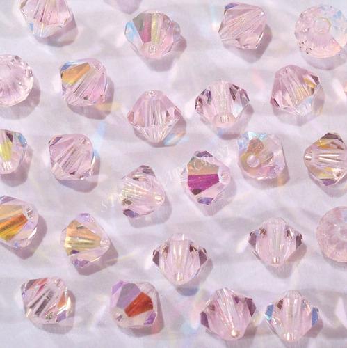 100 cristais balão preciosa 04mm rose boreal noivas bordados